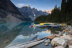 Moraine Lake (seryani) Tags: trip morning viaje summer vacation naturaleza mountain lake holiday canada mountains reflection tree love nature water forest sunrise canon reflections landscape rockies lago outdoors nationalpark scenery holidays view outdoor lakes lac august paisaje canoe agosto amanecer reflect bosque alberta reflejo verano vista banff rockymountains montaa vacations vacaciones forests moraine canoa canad reflejos montaas 2012 banffnationalpark morainelake rocosas canadianrockies parquenacional airelibre canadianrockymountains montaasrocosas canoneos5dmarkii canonef1635f28lii canonef1635 5dmarkii canadarockymountains lagomoraine august2012 summer2012 montaasrocosasdecanad verano2012 agosto2012 vacaciones2012 parquenacionaldebanff