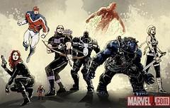AgentVentom_Secret-avengers (Paratrooper Rocky) Tags: book comic flash spiderman agent marvel thompson avengers venom paratrooperrocky
