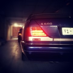 Mercedes-Benz w140 S600,,, <(@ ̄︶ ̄@)> (Shog_alhejaz002) Tags: cars mercedes benz v12 s600 w140 سيارات شبح مرسيدس flickrandroidapp:filter=none