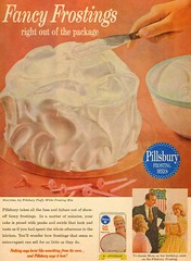 pillsbury Fancy Frosting (1950sUnlimited) Tags: food cakes desserts snacks 1960s advertisements pillsbury midcentury frostings