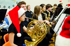 Symphonic Band Tour - 2012 (Mat Gene) Tags: school music students strike cheer teachers instruments brass clarinet 2012 christmast
