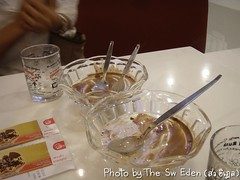 กินไอศกรีม Swensen