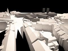 Dostavba Sacré Coeur. 3D view