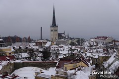 Tallinn, Estonia - Old Town (GlobeTrotter 2000) Tags: world christmas new old eve travel roof winter snow cold heritage tourism happy town europe tallinn estonia village russia nye year visit baltic unesco celebration fairy tale