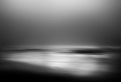 song of the sea... (ibo.h) Tags: winter sea blackandwhite bw blur nature waves icm winterlight songofthesea intentionalcameramovement