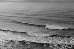 Rolling In (Brian Pemberton) Tags: oregon canon coast blackwhite waves cannonbeach 2012 canon85mmf18 rollingin 5dmarkii brianpembertonphotography