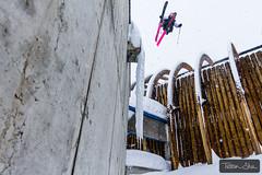 Roof Gap 180 with Julien Lange (Tristan Shu) Tags: winter snow ski france alpes canon jump freestyle action extreme 7d neige tignes savoie snowfall 1017 extrem rhonealpes freeski roofgap tokina1017 wwwtristanshucom julienlange