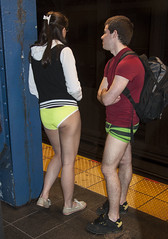 No Pants Subway Ride 2013 (j-No) Tags: nyc girls ny men ass boys fashion panties train subway hipsters women ride pants boxers underwear legs manhattan no butt rear humor hipster young culture teens crotch clothes trendy irony hosiery shorts pubic wedgie unit derrier 2013 camletoe