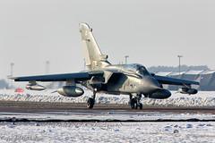 Tornado GR4 (116) ZE116 RAF Marham 16-01-13 (markranger) Tags: snow ice snowy taxi tornado 116 raf gr4 marham ze116 iisqn rafmarham160113