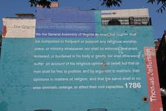 Virginia Statute for Religious Freedom (griffers) Tags: richmondvirginia thomasjefferson rva