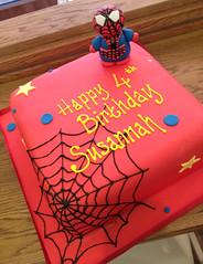 Cute Spiderman Cake