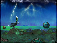 Stormy Night (a collaboration with skagitrenee) (bethrosengard) Tags: photomanipulation digitalart photoart digitallyenhanced digitalmagic skagitrenee bethrosengard renaxel