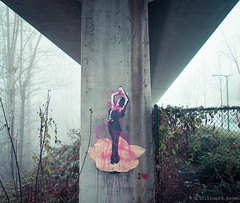 East Van Street Art (Lloyd K. Barnes Photography) Tags: streetart canada fog vancouver britishcolumbia explore interestingness263 i500 explore20130121