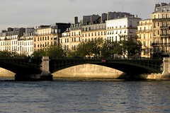 The Seine, Paris (Mairead D) Tags: city travel bridge winter paris france seine architecture river french frankreich europe european