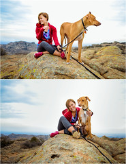Mountain family. (Valeriesphotography.com) Tags: camping dog mountains oklahoma nature self photography nikon rocks personal hiking wildlife diary journal hound climbing ridgeback rhodesianridgeback valerie refuge rhodesian lawton d800 witchita sebestyen valeriesphotography