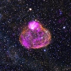 Superbubble DEM L50 (NASA, Chandra, 01/28/13)