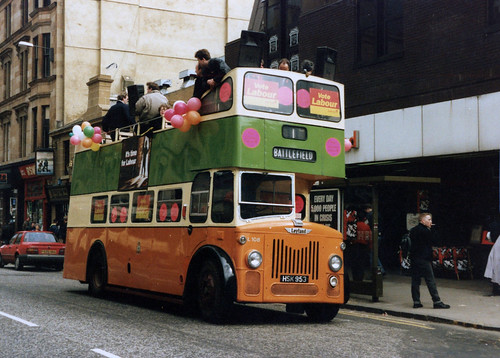 Byres Road 1992, General Election