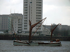 thames sailing barge will (philip bisset) Tags: london will thamessailingbarge unitedkingdomriverthames