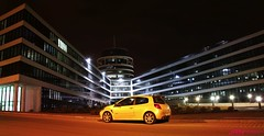 Clio Renault Sport (JRN-Photography) Tags: building cup sport modern night lights long exposure time clio renault luxembourg luxemburg