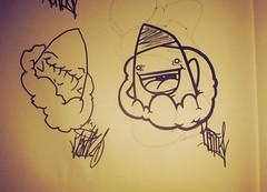 Left Hand Lies. (DTR-ism.) Tags: nyc art metal happy graffiti gear ocelot solid ripper handstyle 2013 derti uploaded:by=flickrmobile flickriosapp:filter=iguana iguanafilter