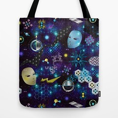 cosmic_trip_Tote_Bag_Society6 (vannina_sf) Tags: tote bag society6 scifi future space cosmic trip cosmos galaxy nebula solar planet alien et ai technology hologram stars milkyway