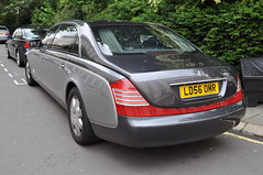 Maybach 62 (D's Carspotting) Tags: maybach 62 united kingdom london grey 20110617 ld56omr
