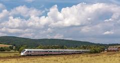 1836_2016_07_09_Haunetal_Neukirchen_DB_411_559_411_059_Passau_&_411_530_411_030_Jena_Bad_Hersfeld (ruhrpott.sprinter) Tags: ruhrpott sprinter geutschland germany nrw ruhrgebiet gelsenkirchen lokomotive locomotives eisenbahn railroad zug train rail reisezug passenger gter cargo freight fret diesel ellok hessen haunetal neukirchen db cancantus egp eloc metrans rhc sbbc txlogistik wiebe stopfexpress 139 185 193 411 415 428 ice r5 hilfszug trecker heuwender kornfeld weizen cocoon alien outdoor logo natur blumen tiere rinder schmetterlinge graffiti
