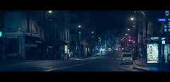One Night in Paris (James Yeung) Tags: anamorphic kowa night france paris cinematic movie