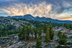Sierra Mammatus - El Dorado County, California (Tactile Photo | Greg Mitchell Photography) Tags: landscape soft eldoradocounty clouds bluesky carsonpass lonetree sierranevada tree california august thursday granite color pine sunset light