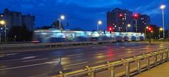 P7290023_v1 (jakubste) Tags: krakow cracow city night traffic