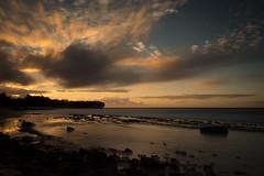 Shipwreck Beach (Stevowa) Tags: hawaii sunrise long exposure longexposure nd110 nikon d7100 beach water orange slow slowwater rocks