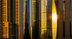scrapers in the sun (Rob-Shanghai) Tags: shanghai towers lujiazui china leica m240 90mm sunlight skyscraper shapes