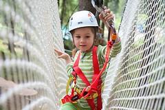 Belay and safety systems for high ropes courses. #saferoller #lifeline #safety #smartbelay http://j.mp/2bF7cvT (Skywalker Adventure Builders) Tags: high ropes course zipline zipwire construction design klimpark klimbos hochseilgarten waldseilpark skywalker