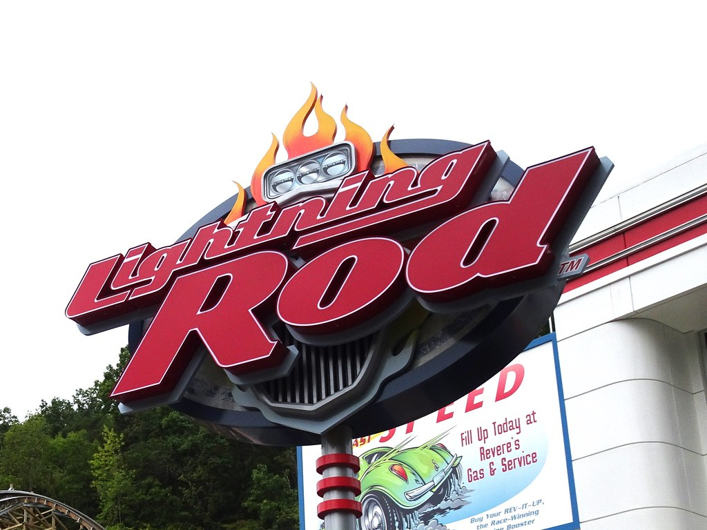 Lightning Rod at Dollywood by milst1, on Flickr
