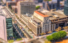 Times Building Tilt Shift (Michael F. Nyiri) Tags: california urban cityscape southern los angeles city downtown dtla architecture tiltshift
