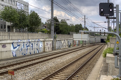 Zcor (Herbalizer) Tags: graffiti vienna wien austria sterreich wall wand trackside line winer linie bb zcor
