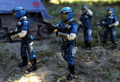 On the March (scarrviper) Tags: cobra troopers soldier gijoe vipers hiss infantry