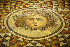 Pergamon Museum - Izmir - Medusa Mosaic (Feridun F. Alkaya) Tags: roman turkey unesco un unc unescotentativelist archaeological ancient greek historical historic byzantine ngc museum