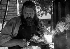 Kovcs-ff (gborpap) Tags: eger hungary sirok castle turkish traditionalist nikond40 blacksmith