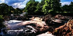 River Tees (Jamie  Sproates) Tags: wwwjamiesproatescom high force river tees teesdale panorama hdr canon 5d mk3 mkiii waterfall rocks