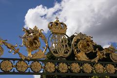 Monogram (Hedvig Eleonora Regina Sueciae) (Yvonne L Sweden) Tags: slott castle drottningholm sweden worldheritage royalcastle vrldsarv