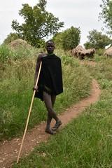 Mursi man (2) (Prof. Mortel) Tags: ethiopia omovalley mursi