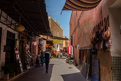 Colorful streets of Marrakesh (Stockografie) Tags: africa afrika fuji fujifilm marokko marrakech marrakesh travel vacation x100t