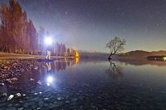 (Bronte Lockwood) Tags: the wanaka tree lake river new zealand still stars night long exposure travel blue pure love life freedom nikon