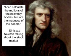 Isaac Newton and The Stock Market (exploringmarkets) Tags: finance history investing investors money pictar quotes science sir isaac newton south sea stock trading company market stocks traders