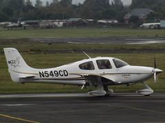 N549CD Cirrus SR22 (Aircaft @ Gloucestershire Airport By James) Tags: gloucestershire airport n549cd cirrus sr22 egbj james lloyds