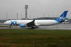 XL Airways F-HXLF, OSL ENGM Gardermoen (Inger Bjrndal Foss) Tags: fhxlf xlairways airbus a330 osl engm norway gardermoen