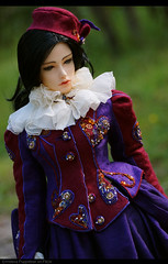 Witch-is-coming-home4 (Ermilena Puppeteer) Tags: soom soomdiagirl handmadeforbjd crossstitch abjd bjd beadwork