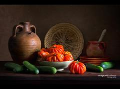 BODEGN CON TOMATES (Miguel Calleja) Tags: bodegn stilllife naturamorta tomate tomato naturemorte