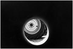 Black Box (devos.ch312) Tags: roadworks wheel tyre truck tunnelview